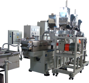 co-rotating twin screw extruders